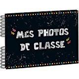 Exacompta 16010E Album Photos à Spirales 50 Pages pour Photos de Classe Carton/Papier Motif Imprimé 32 x 22 x 2,8 ...
