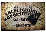 Finition à la main en bois Format A4 Olde Worlde Talking Planche Planchette en bois, avec plateau Ouija Style détails ...