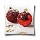 FlowerArtC5483-Custom 18 x 18 Throw Pillow Cover Happy New Year! Themed Zippered Decorative Pillowcase-Black Friday Selling 2015
