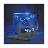 Georgie® Réveil Matin Alarme Clock Numerique Digital LED Réveil lumineux Original de Voyage Température Chambre Enfant Contrôle et Affichage LED ...