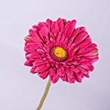 Gerbera artificiel, fuchsia, 60 cm, Ø 11 cm - fleur artificielle / gerbera plastique - artplants
