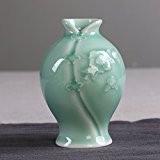 GHOME IDEAS Vases En Céramique Chinoise Créative Green