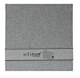 Goldbuch 30919Linum Album photo, en carton, gris, 30x 31cm