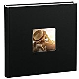 Hama Jumbo Album-photo Fine Art (30 x 30 cm, 100 pages, 50 feuilles, avec encoche pour insertion de la photo) ...