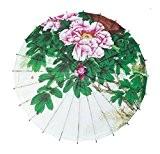 Handmake classique papier pivoine Patten ombrelle photographie les accessoires ombrelle