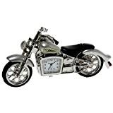 HARLEY DAVIDSON HARLEY DAVIDSON NOUVEAU MOTORBIKE D'ARGENT MINI NOUVEAU DESKTOP HORLOGE