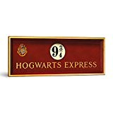 Harry Potter, panneau mural du quai 9 3/4 Poudlard Express, 55 x 20 cm