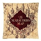 Harry Potter The Marauder's Map Hogwarts Castle Throw Soft Pillowcases Decorative Pillowcases Best Birthday Gift For Kids Or Friends Square ...