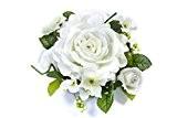 Hb - Centre de table fleurs blanches 18cm