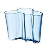 Iittala Alvar Aalto Vase (160 mm-) Standard bleu clair