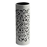 Industreal FALLING vase en porcelaine blanche et noire