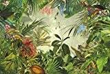 "Komar xxl4–031368x 248cm ""Into the Wild Tropical Rain Forest Scenic"" Papier peint–Vert (Lot de 4)"