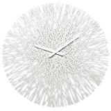 Koziol 2328525 Silk Horloge Murale Matière Thermoplastique Blanc 3,5 x 44,8 x 44,8 cm