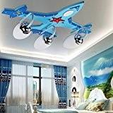 lampe avion plafonnier créatif chambre salon plafond de lumière pour les enfants