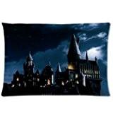 Le coup Taie d'oreiller Harry Potter Poudlard école Plaque personnalisée Taie d'oreiller couverture taie d'oreiller housse coussin Taie d'oreiller 20x ...