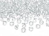 Les pierres diamants en acrylique pour décoration tRANSPaRENT 12 mm - 100 pièces