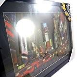Londres New York Paris [L7837] - Tableau lumineux 'Time Square' 3D led