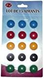 MAGNET AIMANT STICKERS PETIT ROND FRIGO TABLEAU PAR 15 NEUF SOUS BLISTER