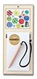 Magnétique de cuisine en bois pour réfrigérateur Tableau mémo Liste de Courses fabriqué au Royaume-Uni