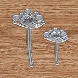Malloom® Coeur de fleur de découpe en métal matrices pochoirs Album de Scrapbooking de bricolage Papier Craft (taille unique, C)