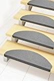 Marchettes d'escalier adhésives | quantité au choix | sécurité et confort | installation facile | taille 27x64cm | couleurs au ...