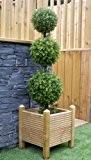 Meilleur artificiel 120cm 4m Triple buis boule buis topiaire arbre de qualité professionnelle