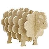 MMRM Créatif Antidérapant Mouton Caboteur Dessous de Verre Décoration de Maison