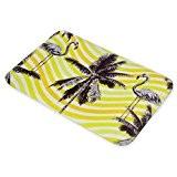 Mode Moquette Flamingo et Palm Tree Ananas American Flanelle Tapis de sol Tapis de bain antidérapant pour le salon rectangulaire ...