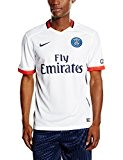 Nike Paris Saint-germain Maillot manches courtes Homme Blanc/Rouge FR : XL (Taille Fabricant : XL)