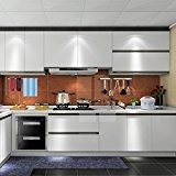 Nouveau 0.61*5M Auto-Adhésif Stickers de Cabinet en Top Qualité PVC Rouleau de Papier pour Meubles / Cuisine / Salle de ...