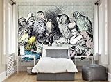 ohpopsi Alice au pays des merveilles Animal Réunion murale