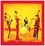 ONA - Jazz Band (Panneaux MDF 30x30 cm)