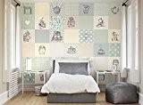 Papier mural ohpopsi Alice au pays des merveilles Adventure, 3.5m x 2.8m