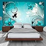 Papier peint intissé 300x210 - 3 couleurs au choix - Top vente - Papier peint - Tableaux muraux déco XXL ...