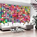 Papier peint intissé 300x210 cm ! Top vente - Papier peint - Tableaux - muraux - déco - XXL - ...