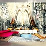 Papier peint intissé 350x245 cm - Top vente - Papier peint - Tableaux - muraux - déco - XXL - ...