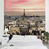 Papier peint intissé - Paris close - Mural Carré papier peint photo intissé tableau mural photo