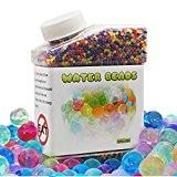 Perles d'eau, 30000perles colorées pour Orbeez Pied Spa recharge, jouets et Sensorielle Plante Décoration de mariage