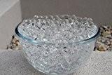 Perles Eau Boules Gel Sol Bio Pour Vases Centre Table Aqua Transparent x 20 Paquets