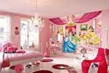"PHOTODÉCOR, ""Princess Ballroom"" 8-476, papiers peints de photos, Photo papier peint, Photomural Photoparati Wallpaper Disney 368cm x 254 cm"