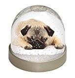 Pug Dog Globe de neige de dôme Waterball animaux cadeau de Noël