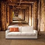 Salt mine papier peint photo 366 x 254 cm tronc deco.deals salzmine soutes bois