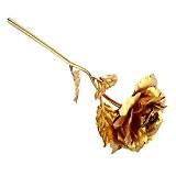 Soledi 24k d'or Foil Rose Fleurs pour Décoration Meilleur Cadeau pour la Saint-Valentin, Fête des Mères, Anniversaire, Cérémonie de Mariage ...