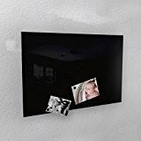 Tableau magnétique 3 tailles 40 x 60 cm/50 x 80 cm/60 x 90 cm-RAL 9005 Noir brillant, schwarz - RAL ...