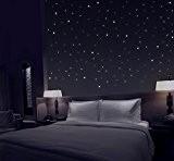 TALINU ciel étoilé avec 277 points lumineux autocollants I 2 ans de garantie satisfaction I point fluorescent, sticker mural adhésif