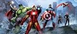 The Avengers Marvel Panorama Papier Peint dècoration pour la Chambre d'Enfants 202x90cm