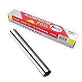 TININNA Papier Film Aluminium en Boîte Distributrice avec Zip Cut Pour Barbecue Protection et Cuisson des Aliments