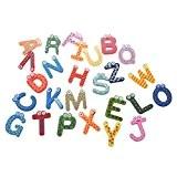 TOOGOO(R) 26 A-Z Lettres de l'Alphabet Aimants en Bois Pour Refrigerateur Decoration de Maison