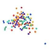 TOOGOO(R) Couleurs melangees Perles d'eau