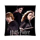 Ur pillowcase harry potter hermione granger and ron weasley Custom Pillow Case cushion cover 16x16 (Twin sides)